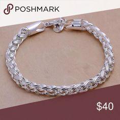 """925 solid sterling silver bracelet 8"""" 925 solid sterling silver bracelet 8"""" Jewelry Bracelets"""