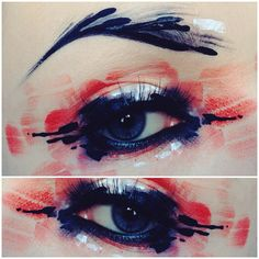 """By @ida_elina """"I get quite frequently asked what is my makeup style called? I most often answer """"I just paint.."""" ❤️ I've been painting and drawing ever since I could…"""""""