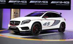 Mercedes-Benz GLA45 AMG Concept - Auto Shows
