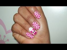 Watch this video to know how to do a great Pig Nail Art! =]