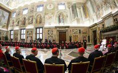 CRUX   John L Allen Jr: #PopeFrancis warns Curia against 'spiritual diseases'