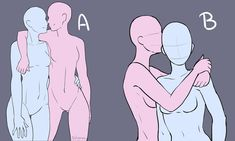 Ych= your character here Fch = fan character here I draw: - oc , cannon - Humanoids ( with animal features ) If you. Ship Drawing, Drawing Base, Art Drawings Sketches, Cute Drawings, Drawing Couple Poses, Sketch Poses, Drawing Templates, Poses References, Drawing Expressions