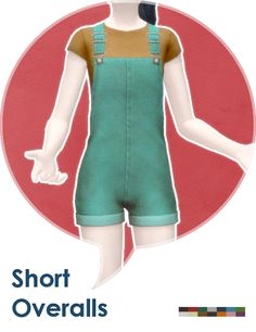 Sims 4 CC's - The Best: Short Overall by Leh Gaming
