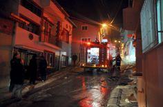 Uşak'ta Konut Yangını 'Gündem Haberleri'