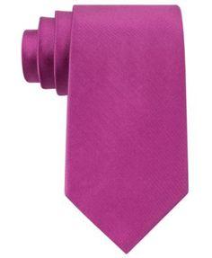 MICHAEL Michael Kors Extra Long Tie Sapphire Solid II  | macys.com