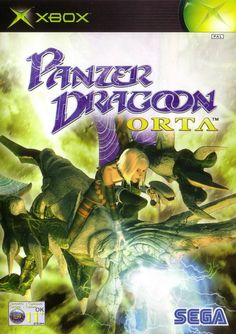 For Panzer Dragoon Orta on the Xbox, a box shot for the EU - release on GameFAQs. Playstation, Xbox Games, Arcade Games, Arcade Console, Retro Video Games, Retro Games, Art Of Fighting, Bandai Namco Entertainment, Laugh At Yourself