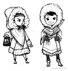Character Design : Neila by David Tabar  NEILA  A shortfilm created by french students  https://www.facebook.com/pages/NE%C3%8FLA/1066725760011485  http://neilathefilm.tumblr.com/