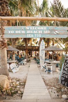 sea you bar in Paphos, Cyprus | beach bar