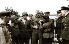 Soviet and American soldiers - Elbe 1945 | Flickr - Photo Sharing!