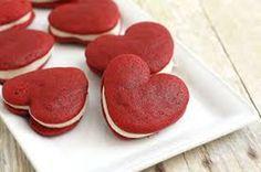 kırmızı kurabiye