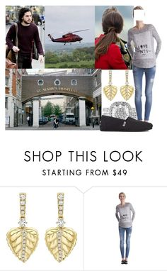 """""""(Read!!!) Feeling the first contractions and being led to the St Mary's Hospital by helicopter"""" by alexandraofwales ❤ liked on Polyvore featuring Séraphine and TOMS"""