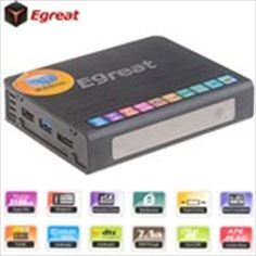 (EGREAT) R6S 1080P Google Android 2.2 Network TV Box Media Player with Dual USB / eSATA / LAN / HDMI (512MB DDR3)