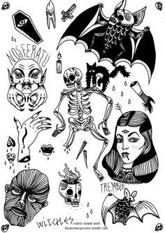 Resultado de imagen para black traditional tattoo