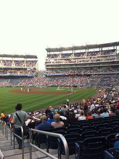 National's Park. Mets vs. Washington  July 29, 2011