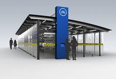 VÉLOSTATION - AMT - Projets - Design Industriel | PROVENCHER_ROY