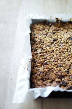 BARRE_DE_CEREALES_MAISON_1 Granola, Breakfast Smoothies, Vegan Vegetarian, Biscuits, Brunch, Veggies, Snacks, Detox, Cereal