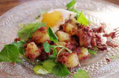 Corned-beef aux pommes de terre sautées