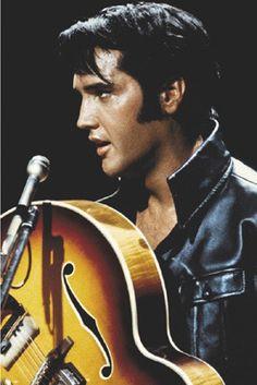 Elvis: King of Rock & Roll Unknown Fine Art Print Poster