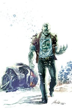 "wolverineholic: "" Old Man Logan Vol 2 #8 (2016) Mighty Men of Marvel variant by Rafael Albuquerque """