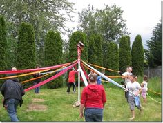 How to make a Maypole for under $15.00