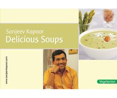 Delicious Soups: Find out how, with my selection of Indian and international soups. Sip on the light and refreshing Clear Lemon and Coriander Soup; slurp on delicious Creamed Red Pumpkin and Apple Soup; indulge on the creamy Mushroom Soup with Almonds; or guzzle a bowl of rustic Spinach and Rice Soup and treat your senses to some delicious soups!