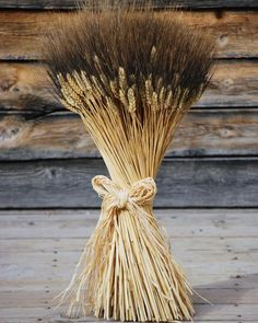 Extra Large Blackbeard Wheat Sheaves - Awesome Wedding Centerpiece from drieddecor.com