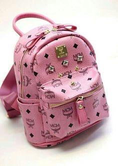 #mcm #bag Love this pink!