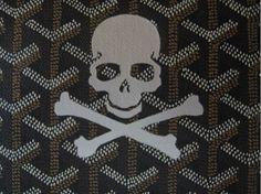 goyard skull and crossbones.