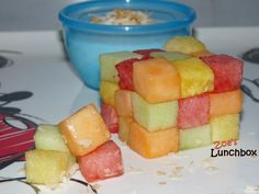 Fruit Rubix Cube