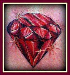 Ruby Tattoo Designs Pin tattoo ruby name design rose tattoos on ...