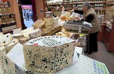 Roquefort in the markets.