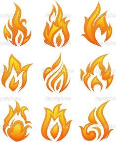 Fire drawings
