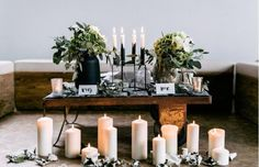 Minimalistic monocrome wedding by Marina Scholze Photography Wedding Decorations, Table Decorations, Wedding Shoot, Centerpieces, Candles, Pure Products, Inspiration, Open Spaces, Photography