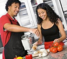 Cooking together brings you closer