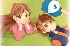 Dipper and Mabel (@ao_asahi) | Twitter