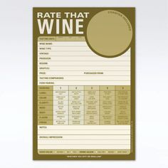 Rate that Wine Pad