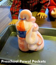 Science Experiment: Elephant Toothpaste | Preschool Powol Packets