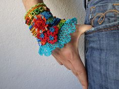 Hey, I found this really awesome Etsy listing at https://www.etsy.com/ru/listing/229777529/freeform-crochet-cuff-bracelet-with