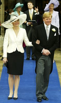 The Evolution of Queen Máxima and King Willem-Alexander's Love