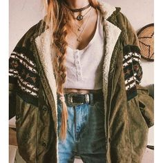 Hippie Outfits 824510644267146202 - National style Printed Color Pocket Women's Jacket – undaylily Source by clothes Source by MMittieCummingsWomenMode Mode Outfits, Grunge Outfits, Casual Outfits, Indie Rock Outfits, Cute Hippie Outfits, Mode Grunge, Grunge Style, Grunge Hippie, Hipster Style