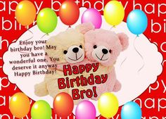 Wish your elder or younger brother with this funny birthday wishes for brother. Make his birthday more funny, enjoyable, memorable. Birthday is a very special day for everyone life. You should wish your brother with specially. Happy Birthday Little Brother, Birthday Message For Brother, Birthday Greetings For Brother, Funny Birthday Message, Birthday Wishes For Brother, Best Birthday Quotes, Birthday Wishes Funny, Happy Birthday Fun, Happy Birthday Images