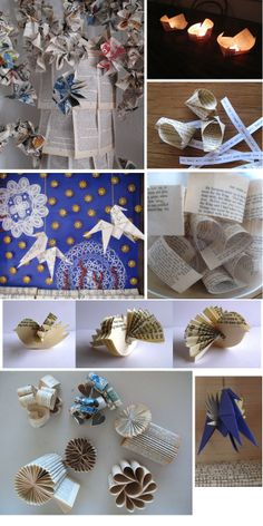 I fold paper a lot - especially from old books from the recycling pile.  the paper has a wonderful quality