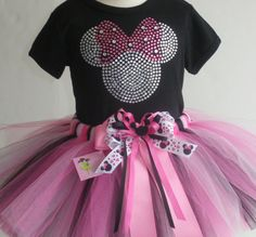 5T OR 6/6X Disney Minnie Mouse costume pink FULL by MyFairysCloset, $69.75