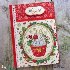 Karácsonyi muffin receptkönyv (NikoLizaDekor) - Meska.hu Muffin, Monogram, Diy, Decor, Decoration, Bricolage, Muffins, Monograms, Do It Yourself