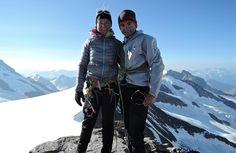 Ueli and Nicole Steck
