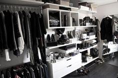 idee cabina armadio minimal - fashion blogger idee arredamento