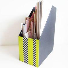 washi tape organizing