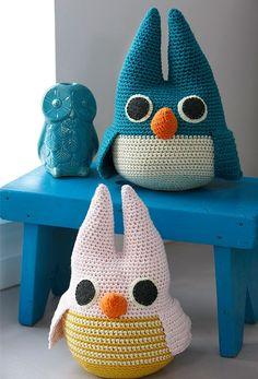 Beautiful crocheted owls - Her World