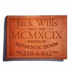 4thavenuegraphics  http://www.4th-avenue.com/ #4thavenue #jackwills #graphicdesign #labels #apparel #denim #tag