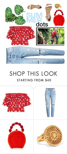 """Dotty about life"" by missdee-93 ❤ liked on Polyvore featuring Caroline Constas, H&M, Nancy Gonzalez and Chloé"